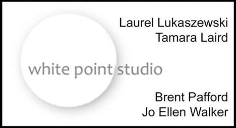 Laurel Lukaszewski, Tamara Laird, Brent Pafford, and Jo Ellen Walker from White Point Studio